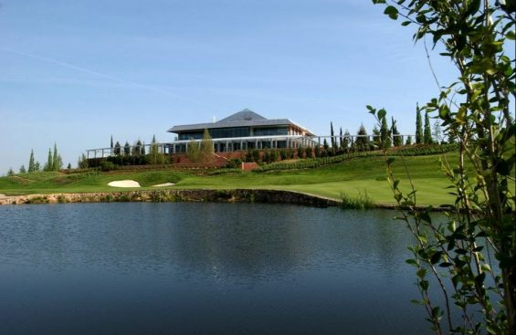 Golf Santander hoyo 18
